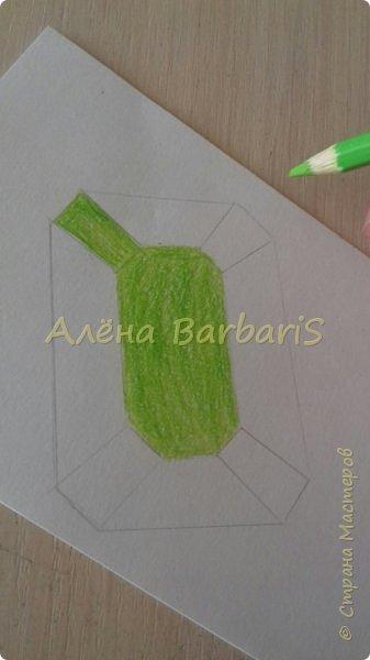 Доброго времени суток!)  Сегодня покажу вам как можно нарисовать объемные камушки. Данный мастер-класс я увидела в инстаграмме, совершенно не запомнив у кого (( решила попробовать, затем конечно показать вам :) В общем нам понадобится бумага, акварельные цветные карандаши, кисточка, вода.  фото 21