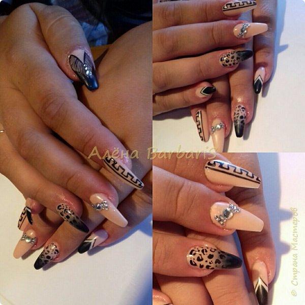 А вот это моя работа ... ))) Создаю и повторяю всевозможные дизайны ногтей ) фото 11