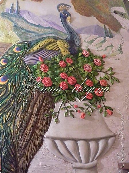 Приветствую всех гостей моего блога!!! Сегодня я хочу показать вам свои барельефы. Сразу оговорюсь, я не художник и не училась этому, лепила первый раз, да так разошлась...))) Фоток будет очень много, но надеюсь просмотр будет приятным, может вдохновит кого-нибудь на творчество. фото 10