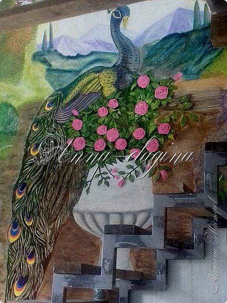Приветствую всех гостей моего блога!!! Сегодня я хочу показать вам свои барельефы. Сразу оговорюсь, я не художник и не училась этому, лепила первый раз, да так разошлась...))) Фоток будет очень много, но надеюсь просмотр будет приятным, может вдохновит кого-нибудь на творчество. фото 11