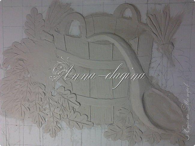 Приветствую всех гостей моего блога!!! Сегодня я хочу показать вам свои барельефы. Сразу оговорюсь, я не художник и не училась этому, лепила первый раз, да так разошлась...))) Фоток будет очень много, но надеюсь просмотр будет приятным, может вдохновит кого-нибудь на творчество. фото 40