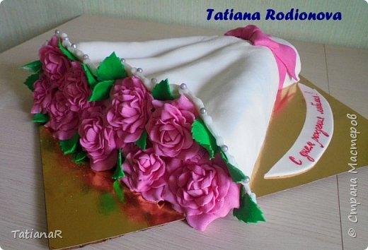 Влюбилась в торт... фото 8