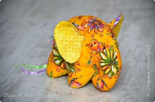 Прислали мне из Тулы, наборы для изготовления текстильных игрушек. Изготовить нужно было ко Дню Рождения мамы, т.к. она любит слоников. фото 2