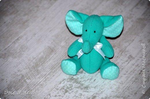 Прислали мне из Тулы, наборы для изготовления текстильных игрушек. Изготовить нужно было ко Дню Рождения мамы, т.к. она любит слоников. фото 5