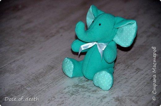 Прислали мне из Тулы, наборы для изготовления текстильных игрушек. Изготовить нужно было ко Дню Рождения мамы, т.к. она любит слоников. фото 6