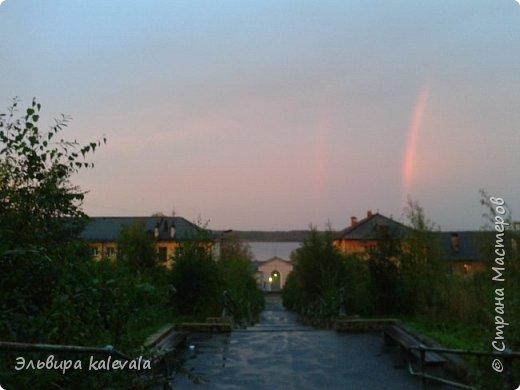 Небо, небо, синее небо летом в Карелии. фото 7
