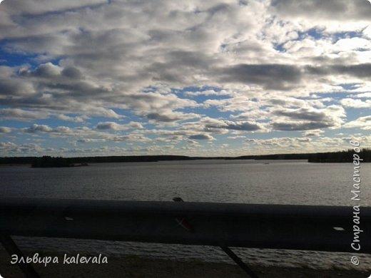 Небо, небо, синее небо летом в Карелии. фото 4
