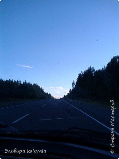 Небо, небо, синее небо летом в Карелии. фото 5