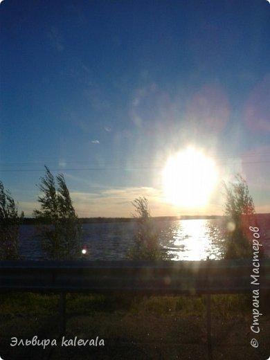 Небо, небо, синее небо летом в Карелии. фото 6