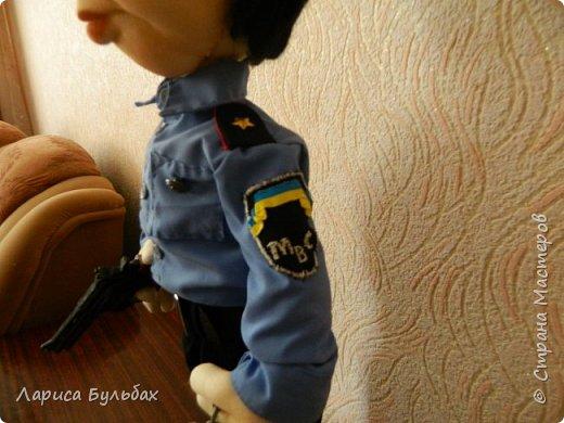 Хочу представить на суд жителей страны свою новую куколку- милиционера. фото 4