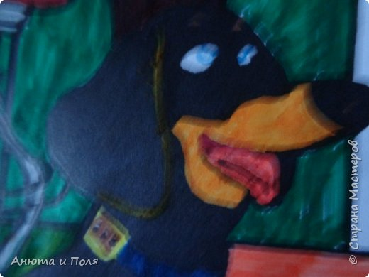 """Всем привет.сегодня я сдаю работу на конкурс """"Тайная жизнь домашних животных"""" начнём        вот мы рисовали карандашом. фото 4"""