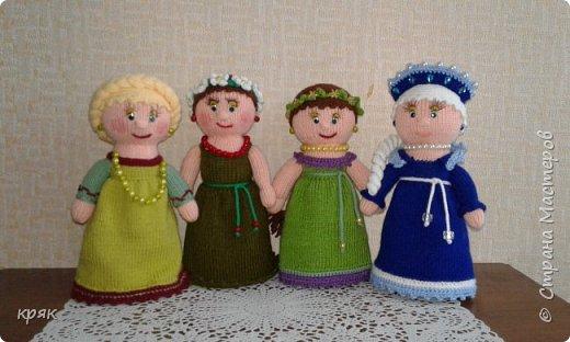 Куклы времена года фото 1