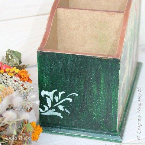 """Короб для столовых приборов """"Травы"""" фото 3"""