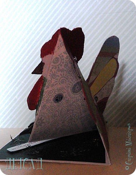 ПЕТУШОК - открытка стойка фото 4