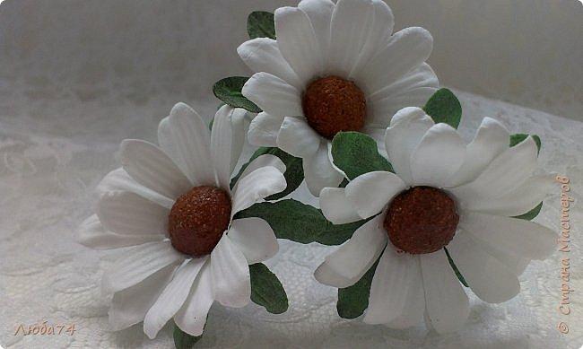 """Здравствуйте жители Страны Мастеров! Сегодня хочу показать вам МК по красивым летним цветам """"Ромашки"""".   фото 75"""