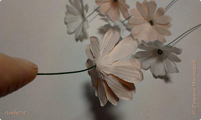 """Здравствуйте жители Страны Мастеров! Сегодня хочу показать вам МК по красивым летним цветам """"Ромашки"""".   фото 31"""
