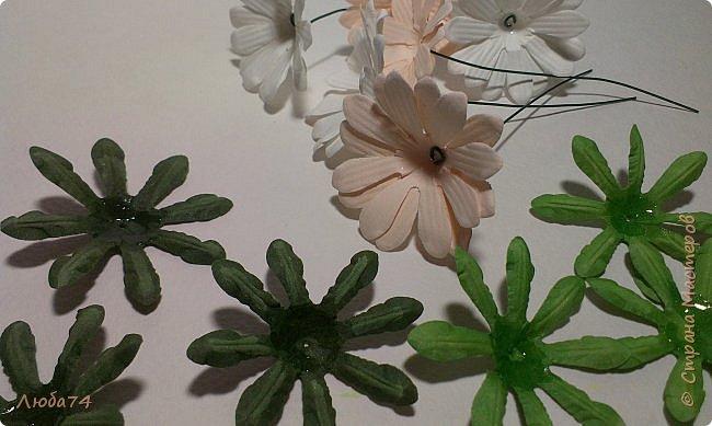 """Здравствуйте жители Страны Мастеров! Сегодня хочу показать вам МК по красивым летним цветам """"Ромашки"""".   фото 45"""
