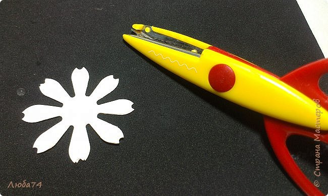 """Здравствуйте жители Страны Мастеров! Сегодня хочу показать вам МК по красивым летним цветам """"Ромашки"""".   фото 13"""