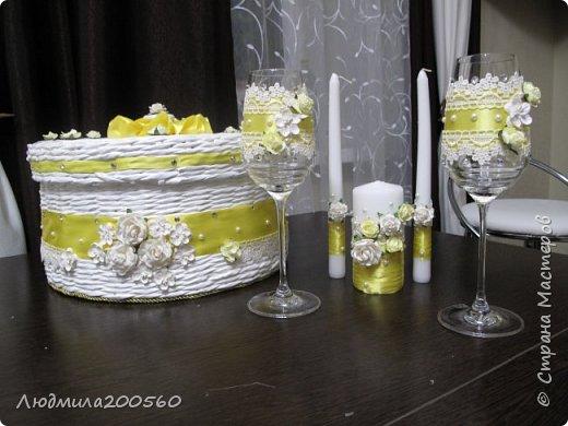 Набор для свадебного торжества.МК. фото 1