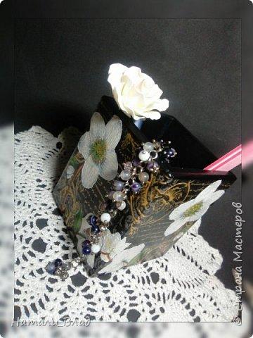 Набор :шкатулка для украшений и карандашница для дамских штучек. фото 3