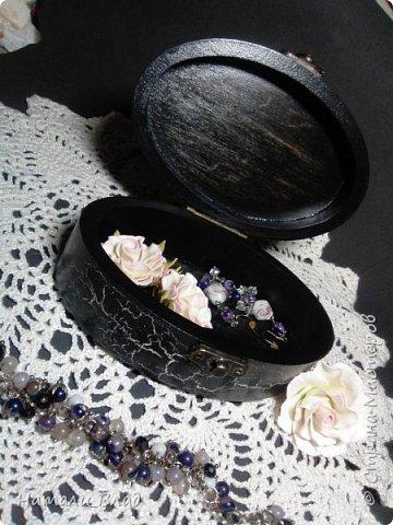 Набор :шкатулка для украшений и карандашница для дамских штучек. фото 4