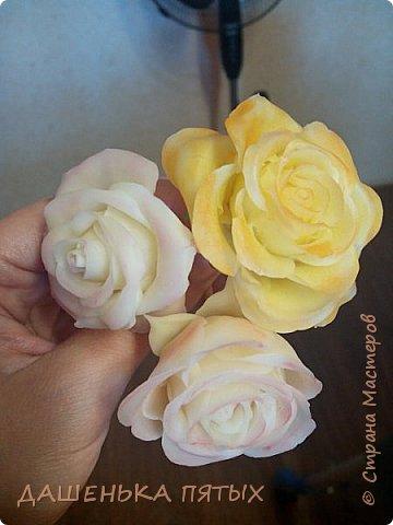 Здравствуйте дорогие мастера и мастерицы:-)решила выложить на ваш суд мои начинания в лепке из холодного фарфора;-)Правда пока не могу подобрать хороший клей для фарфора поэтому цветочки мои сильно потрескались после сушки:-(Ну пока тренируюсь:-) Гиацинт:-) фото 2