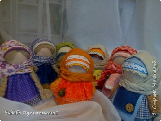 "Обережная кукла ""Нянюшка"" фото 17"