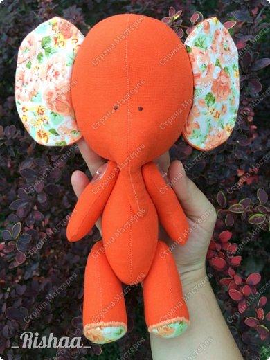 Осенний слоник фото 1