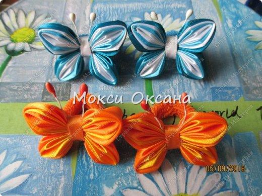 Вот такие бантики с бабочками получились. фото 7