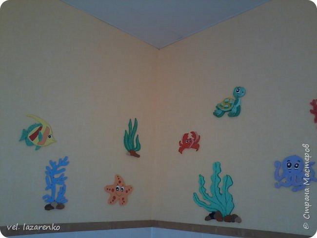Оформление  туалетной комнаты в детском саду фото 2