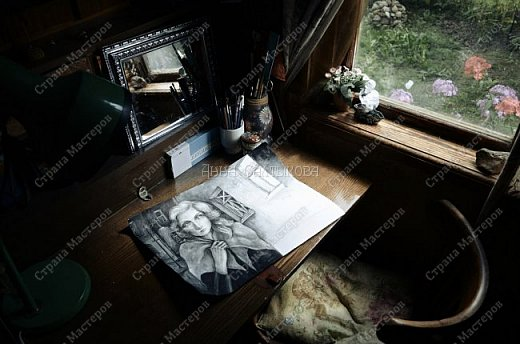 """Иллюстрация к книге Эриха Ремарка """"Время жить и время умирать"""". Акварельная графика, бумага, 30х40 см.  фото 6"""