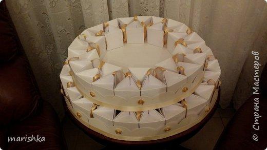 """Дорогие мастера и мастерицы,здравствуйте!Сегодня я к вам с отчётом о работе """"семейной фабрики"""" по изготовлению 150 сумочек бонбоньерок к свадьбе племяшки.Так как гостей было очень много,мы решили приготовить подарочки только для женской половины свадьбы... фото 20"""