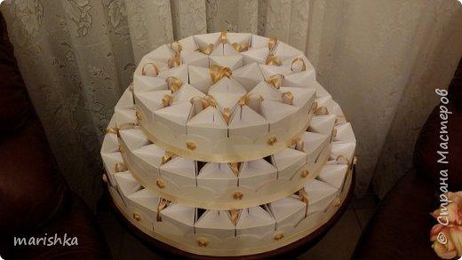 """Дорогие мастера и мастерицы,здравствуйте!Сегодня я к вам с отчётом о работе """"семейной фабрики"""" по изготовлению 150 сумочек бонбоньерок к свадьбе племяшки.Так как гостей было очень много,мы решили приготовить подарочки только для женской половины свадьбы... фото 21"""