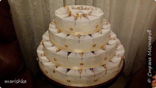 """Дорогие мастера и мастерицы,здравствуйте!Сегодня я к вам с отчётом о работе """"семейной фабрики"""" по изготовлению 150 сумочек бонбоньерок к свадьбе племяшки.Так как гостей было очень много,мы решили приготовить подарочки только для женской половины свадьбы... фото 22"""