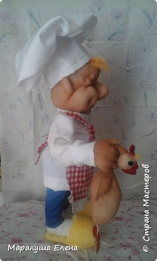 Здравствуйте,  гости! У коллеги сын учится на повара,попросила ему сделать сувенир. И вот, какой получился)) фото 2