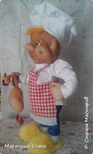 Здравствуйте, гости! У коллеги сын учится на повара,попросила ему сделать сувенир. И вот, какой получился)) фото 3
