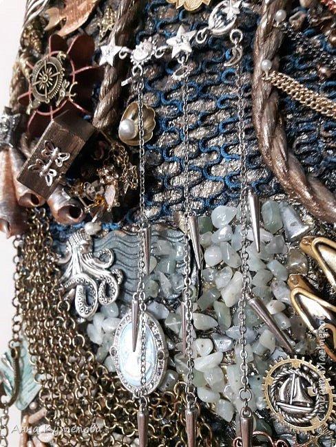 Панно, сделанное на заказ. Что-нибудь морское и чтоб была русалка. :) Ну вот оно на ваш суд. фото 4