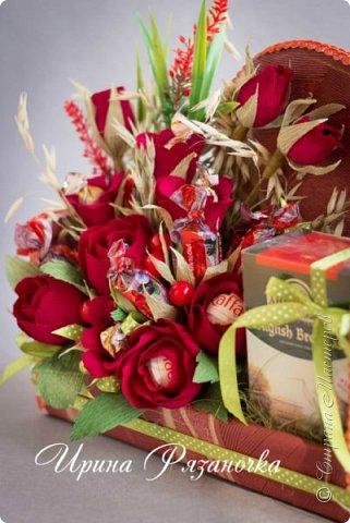 Здравствуйте дорогие посетители блога! Хочу показать вам сладкие, но не конфетные букеты.  Что вы думаете о таких букетах? фото 13
