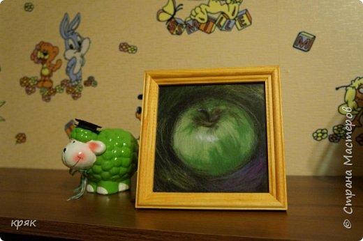 Арчи, картины из шерсти фото 14