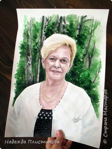 Портрет мамочки для моей постоянной заказчицы.  фото 4