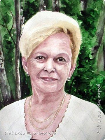 Портрет мамочки для моей постоянной заказчицы.  фото 5