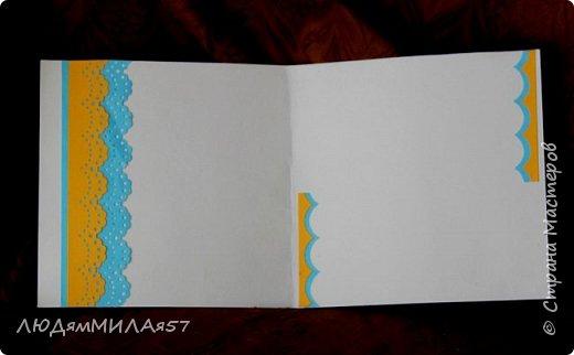 Всем доброго времени суток!Вот такие открыточки у меня недавно родились.Очень мне понравилось рисовать фоны акварелью самой,создавать открытку как бы с нуля,никогда не знаю,что в итоге получится,поэтому результат мне самой всегда интересен. фото 5