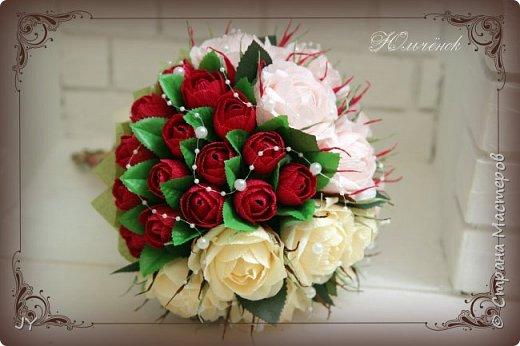 Первосентябрьские букетики! Вот такие разнообразные в этом году получились! Тут и ручной букет с розами... фото 3