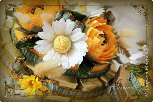 Первосентябрьские букетики! Вот такие разнообразные в этом году получились! Тут и ручной букет с розами... фото 8