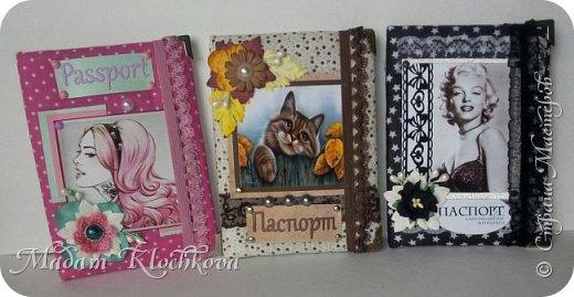 Обложки на паспорт и автодокументы_кожа и ткань. фото 2