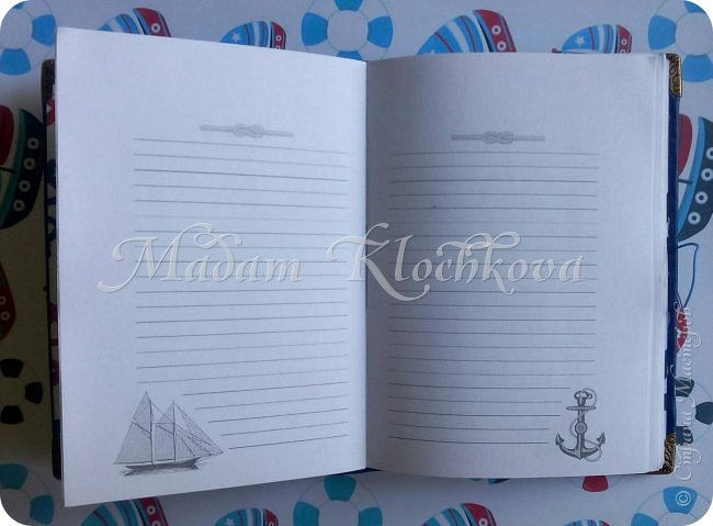 Блокноты и ежедневники с нуля. Коптский переплет. фото 9