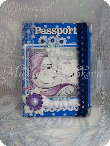Обложки на паспорт и автодокументы_кожа и ткань. фото 5