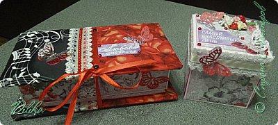 Комплект коробочка и магикбокс на свадьбу фото 15