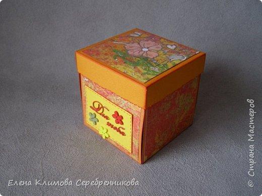 Открытка -коробочка.  фото 2