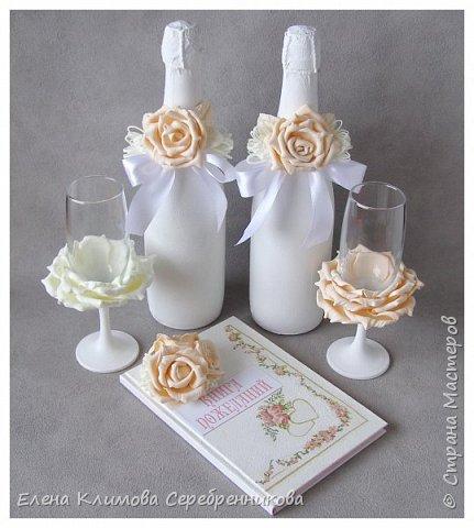 Бело-розовая свадьба фото 8